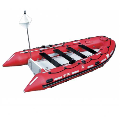 Лодка Brig Rescue F450R Red