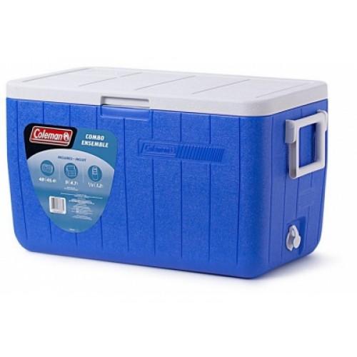 Автохолодильник Coleman Cooler 48 Blue No Tray
