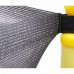 Батут Atleto 152 см c сеткой желтый (21000100)