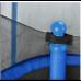 Батут Atleto 152 см c сеткой синий (21000101)