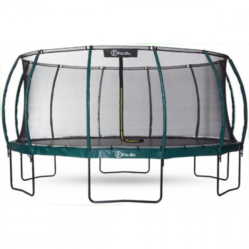 Батут Fit-On Tramp 16ft (488cм) с защитной сеткой Maximal Safe