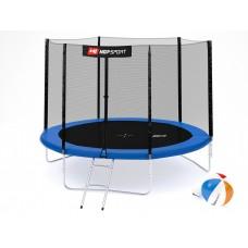 Hop-Sport 10ft (305cm) blue с внешней сеткой