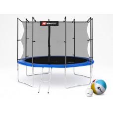 Hop-Sport 10ft (305cm) blue с внутренней сеткой (4 ноги)
