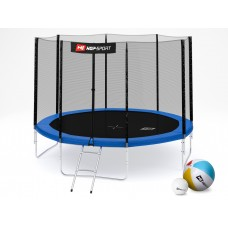 Hop-Sport 10ft (305cm) blue с внешней сеткой (4 ноги)