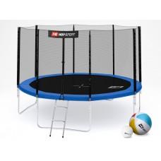 Hop-Sport 12ft (366cm) blue с внешней сеткой