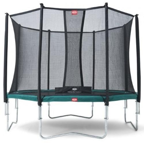 Батут Berg Favorit 270 Green +Safety Net Comfort 270