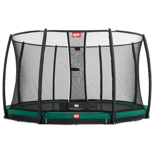 Батут Berg InGround Favorit 14 ft (430 +защ. сетка Deluxe InGround