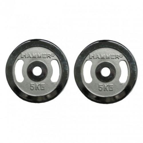 Finnlo Hammer 2x5 кг (Ø 30 мм) 4673