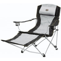 Easy Camp Reclining Chair Deluxe Grey