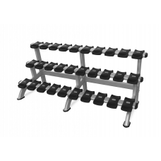 Nautilus Benches and racks Triple Dumbbell Rack