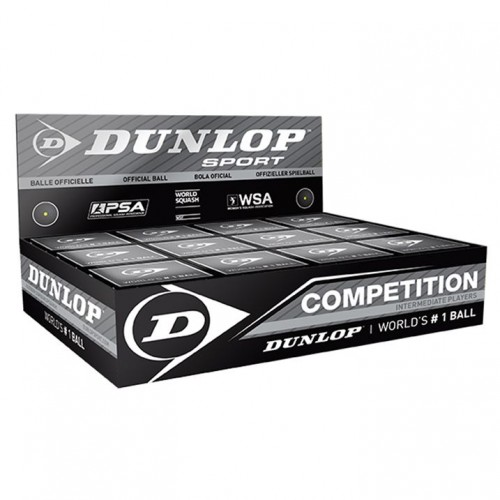 Сквош Dunlop Competition 12 шт