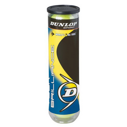 Большой теннис Dunlop Tour Brilliance (4 мяча)