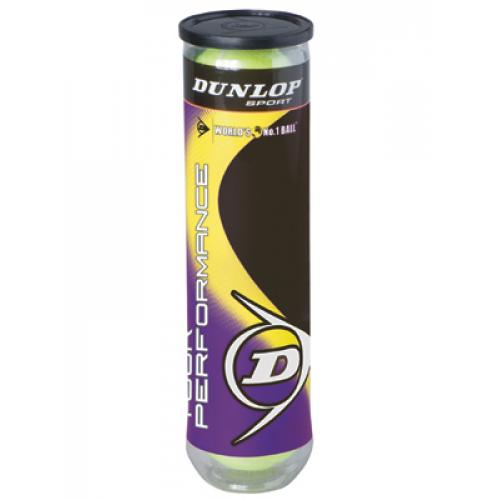 Большой теннис Dunlop Tour Performance (4 мяча)