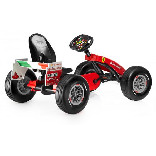 Веломобиль Berg Ferrari F150 Italia pedal go-kart (F1)