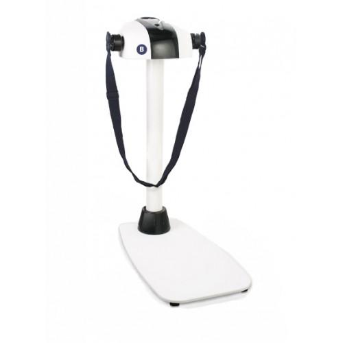 Вибромассажер Fitness Vibrolux белый на стеклянной платформе DS-168G